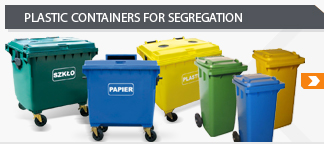 plastic containers for segregation