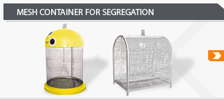 mesh container for segregation