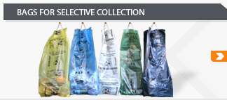 sacks for selective collection Garbage bags