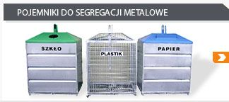 metal containers for segregation