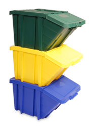 Stackable Recycling Bins