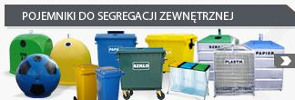 Containers for external waste segregation