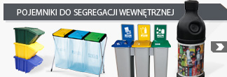 Containers for internal waste segregation